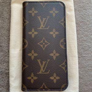 Louis Vuitton iPhone 7/8plus folio case